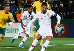 Cristiano Ronaldo, Litvanyayı parçaladı