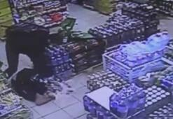 Hoparlörü çalınan adam markette dehşet saçtı