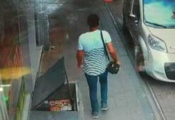 Fatihte restorana giren hırsız para dolu çantayı böyle çaldı