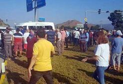 Öğrenci servisi ile kamyon çarpıştı: Çok sayıda öğrenci yaralandı