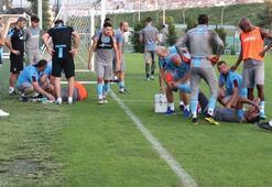 Trabzonsporda tatsız antrenman