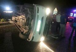 Yolcu minibüsüyle otobüs çarpıştı: Çok sayıda yaralı var