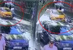 Yolun karşısına geçmek isteyen kadına taksi çarptı