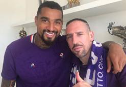 Boateng Riberye saygısını sunuyor
