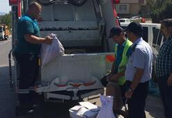 Darıca'da 132 kilo kaçak tütün imha edildi