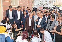 HDP önündeki eyleme aşiretlerden destek