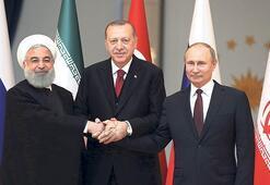 Üçlü zirvenin ana gündemi İdlib olacak... Dünyanın gözü Çankayada olacak