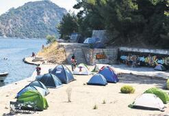 Tatilcilerin yeni trendi çadır turizmi