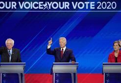 Demokrat adaylar bir kez daha kozlarını paylaştı