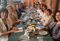 Meral Akşener, kadın temsilcilerle kadına yönelik şiddeti konuştu