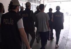 Yangın çıkarmaya çalışan terör örgütü üyeleri yakalandı