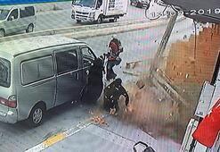 Son dakika... İstanbulda fırtına Saniyelerle kurtuldu