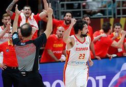 İlk finalist İspanya: 95-88