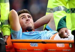 Manchester City'de Laporte 6 ay yok