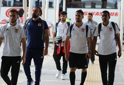 Sivasspor kafilesi İstanbula gitti İşte kadro...
