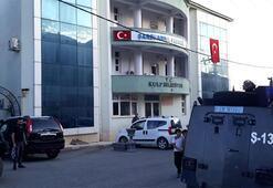 Kulp Belediyesi ve HDP İlçe Başkanlığında arama