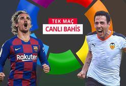 Barcelona-Valencia canlı bahisle Misli.comda