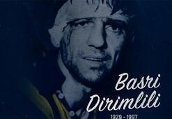 Fenerbahçe Kulübü, eski futbolcusu Basri Dirimliliyi andı