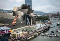 Red Bull Cliff Diving'de son durak Bilbao
