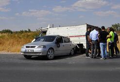 Antep fıstığı hırsızları kaza yapınca yakalandı