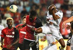 Gazişehir Beşiktaş maç özeti... Olaylı maç 3-2 bitti