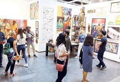 'Keşfedilecek sanatın fuarı'