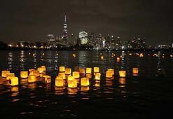 New York dilek balonlarıyla aydınlandı