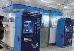 İstanbul Havalimanına kuruldu Artık 5-10 saniye sürecek