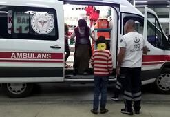 Tarım işçilerini taşıyan minibüs devrildi: 8i çocuk, 10 yaralı