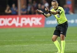 Chelsea-Valencia maçı Cüneyt Çakırın