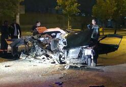 Ankarada drift kovalamacası: 2 çocuk öldü, 1 yaralı