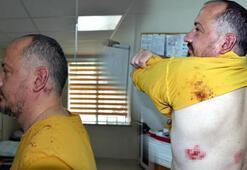Gezgin Fatih Koparana dükkanının önünde sopalı saldırı
