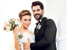 Kıbrıs'ta evlendiler