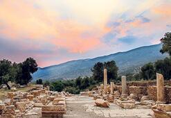 Dionysos'un kentine yolculuk