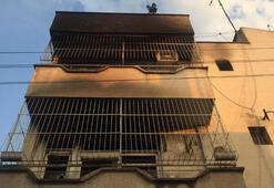 3 kişiyi öldüren zanlının 3 katlı evini yaktılar