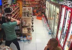 Marketten para çalan hırsız neye uğradığını şaşırdı
