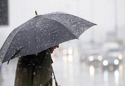 Hava durumu bugün nasıl olacak Meteorolojiden sağanak yağış uyarısı