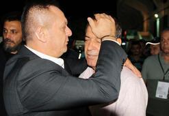 Başkan Ali Çetin yenilgi sonrası Yücel İldiz'i teselli etti