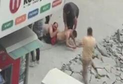 Sokak ortasındaki çatışmadan yeni görüntü