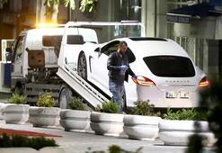 Lüks otomobille saldırının sırrı çözüldü Ağabeyinin ofisini taramış