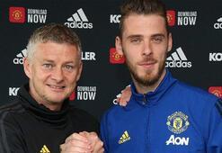 Manchester United, De Geanın sözleşmesini yeniledi