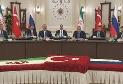 Ankarada üçlü zirve