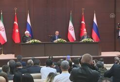 Cumhurbaşkanı Erdoğan: Suriyede siyasi çözüm umutlarını yeşertecek önemli kararlar aldık