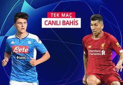 Misli.comda Şampiyonlar Ligi heyecanı Napolinin konuğu Liverpool...
