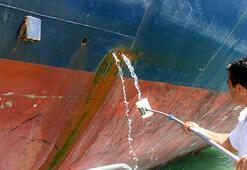 Akdenizi kirleten gemilere 14,5 milyon lira ceza