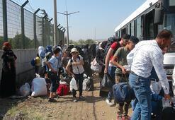 Bayramı ülkelerinde geçiren 39 bin Suriyeli döndü
