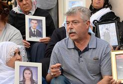 Evlat nöbetinde 15. gün Şehit babası ziyaret etti: Annelerin onurlu duruşu terörü bitirecek
