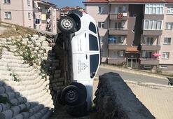 Pes dedirten kaza Böyle çakıldı...