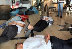 Malatyada organize suç örgütüne operasyon: 13 gözaltı