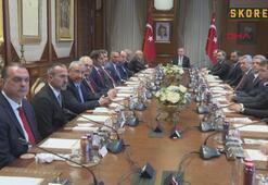 Erdoğan, TFF Başkanı Özdemiri kabul etti